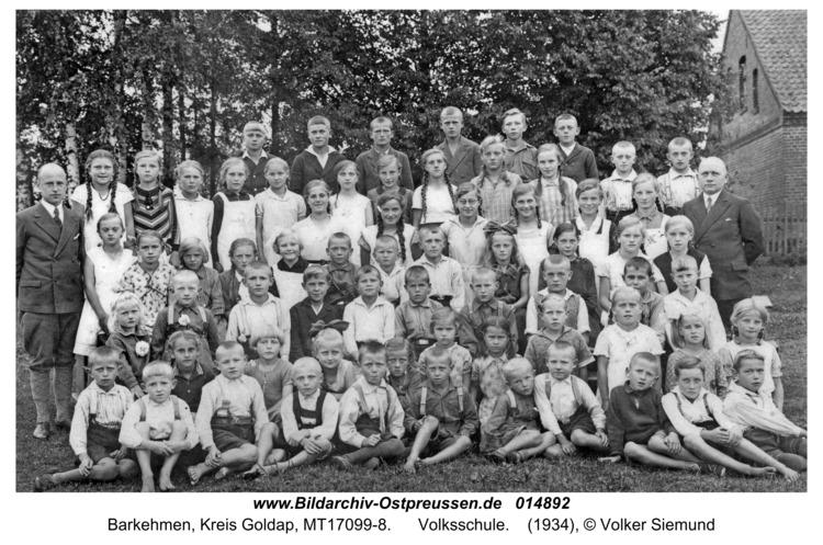 Barkau, Volksschule