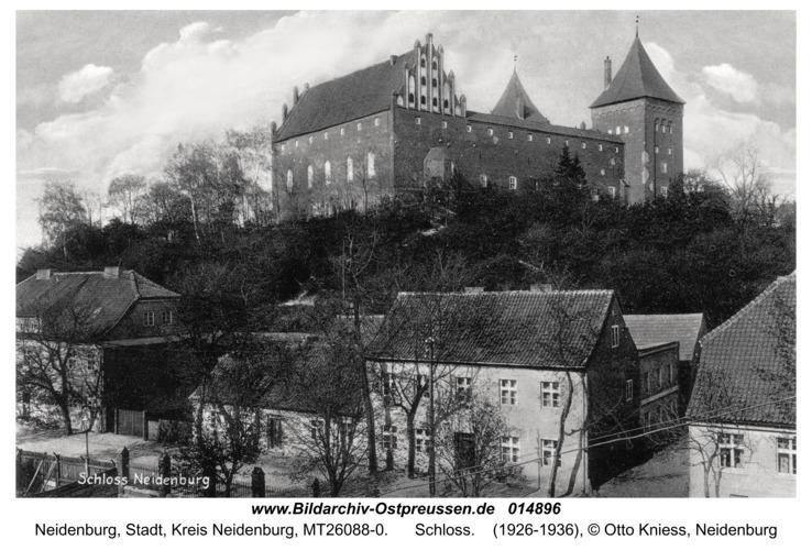 Neidenburg, Schloss