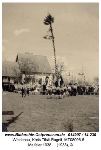 Weidenau, Maifeier 1938