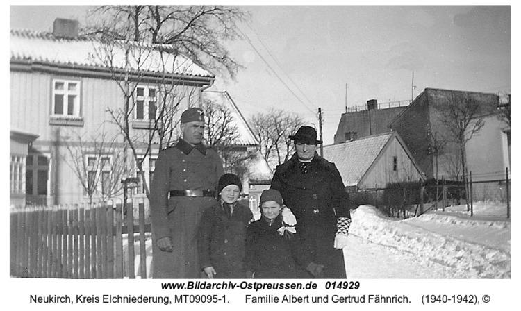 Neukirch, Familie Albert und Gertrud Fähnrich