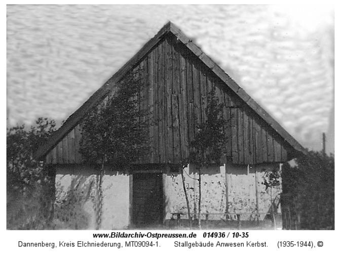 Dannenberg, Stallgebäude Anwesen Kerbst
