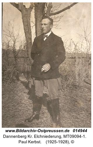 Dannenberg, Paul Kerbst