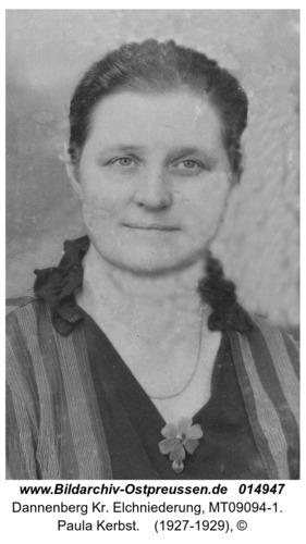 Dannenberg, Paula Kerbst
