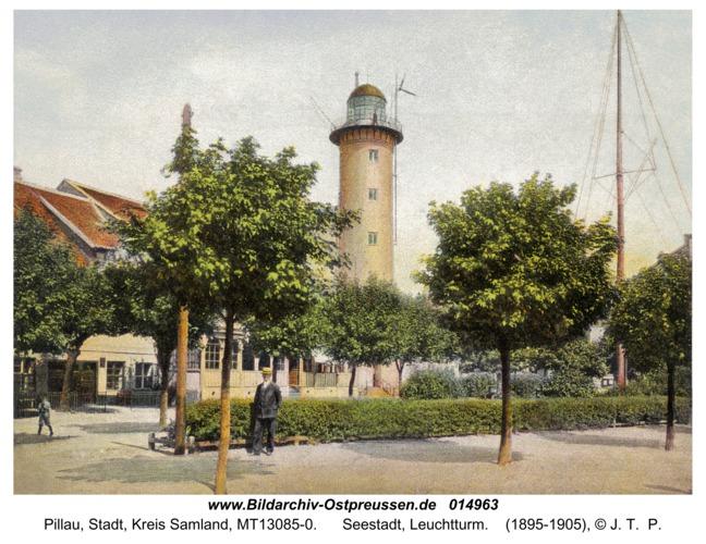Pillau, Seestadt, Leuchtturm
