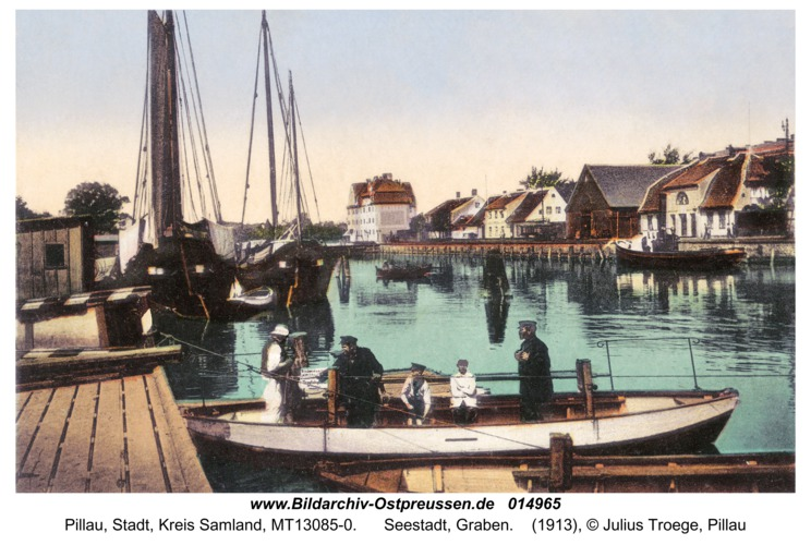 Pillau, Seestadt, Graben