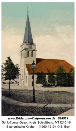 Schloßberg Kr. Schloßberg, Evangelische Kirche