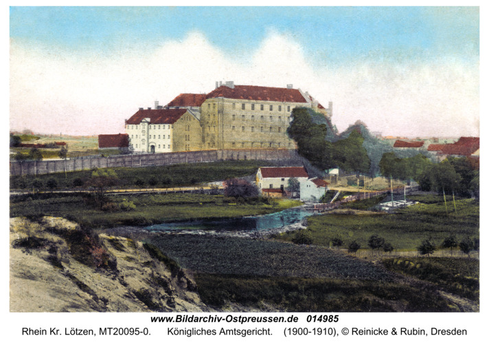 Rhein Kr. Lötzen, Königliches Amtsgericht