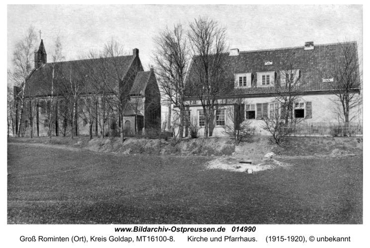 Hardteck, Kirche und Pfarrhaus