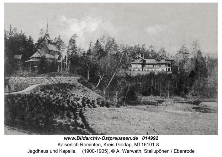 Jagdhaus Rominten, Jagdhaus und Kapelle