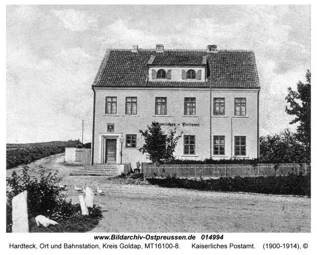 Hardteck, Kaiserliches Postamt