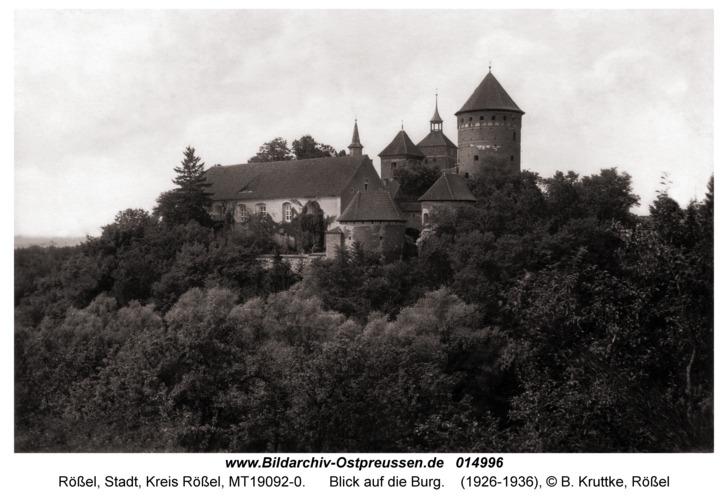 Rößel, Blick auf die Burg
