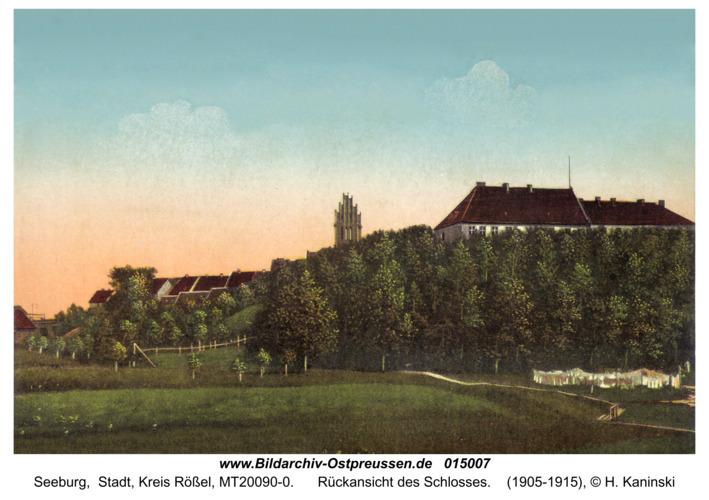 Seeburg, Rückansicht des Schloßes