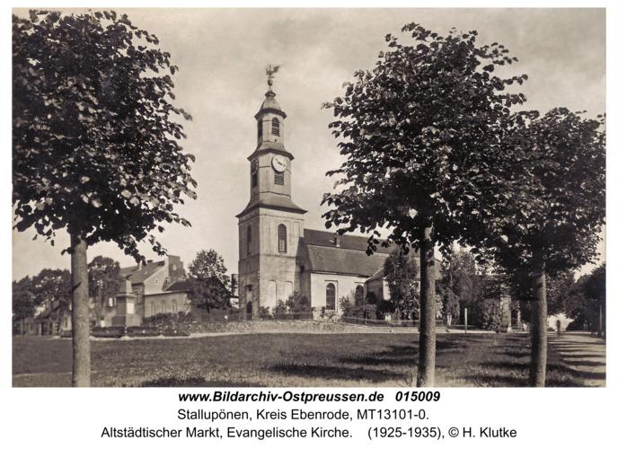 Ebenrode, Evangelische Kirche