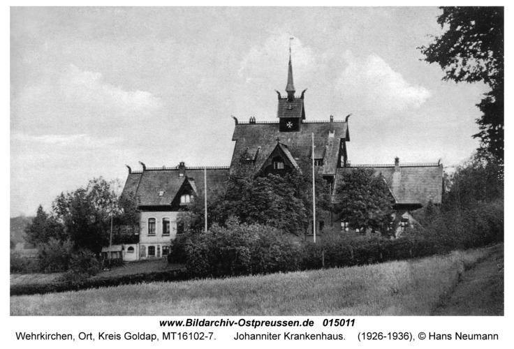 Wehrkirchen (fr. Szittkehmen), Johanniter Krankenhaus