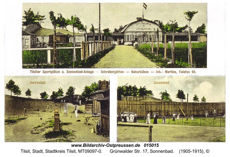 Tilsit, Grünwalder Str. 17, Sonnenbad