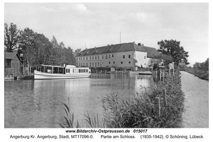 Angerburg, Partie am Schloss