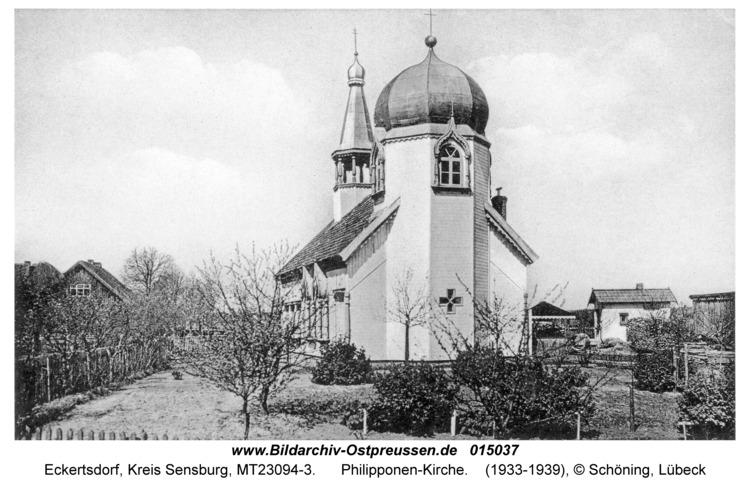 Eckertsdorf, Philipponen-Kirche