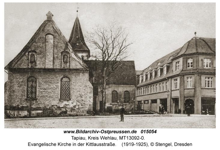 Tapiau, Evangelische Kirche in der Kittlausstraße