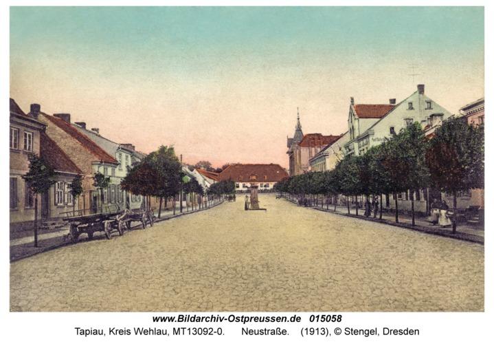 Tapiau, Neustraße