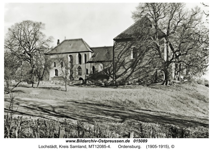 Lochstädt, Ordensburg