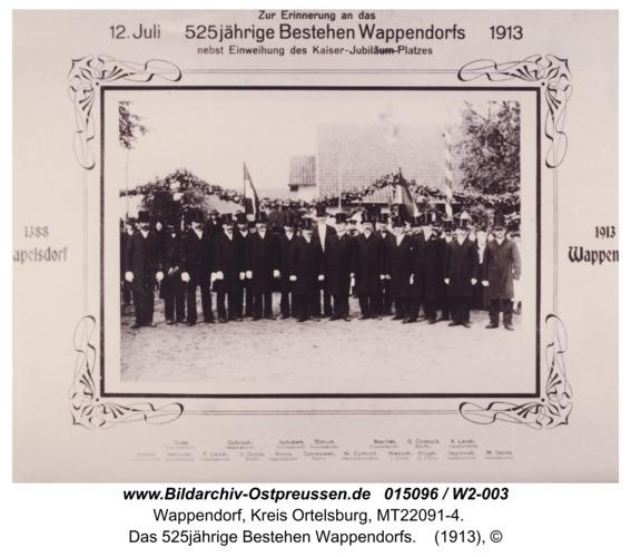 Wappendorf, das 525jährige Bestehen Wappendorfs