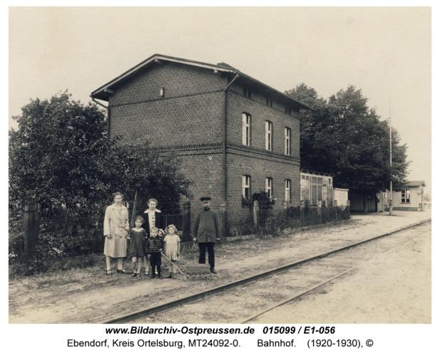 Ebendorf, Bahnhof