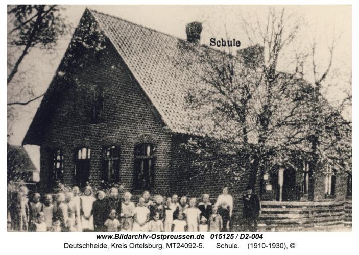 Deutschheide, Schule