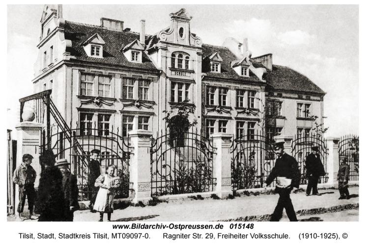 Tilsit, Ragniter Str. 29, Freiheiter Volksschule