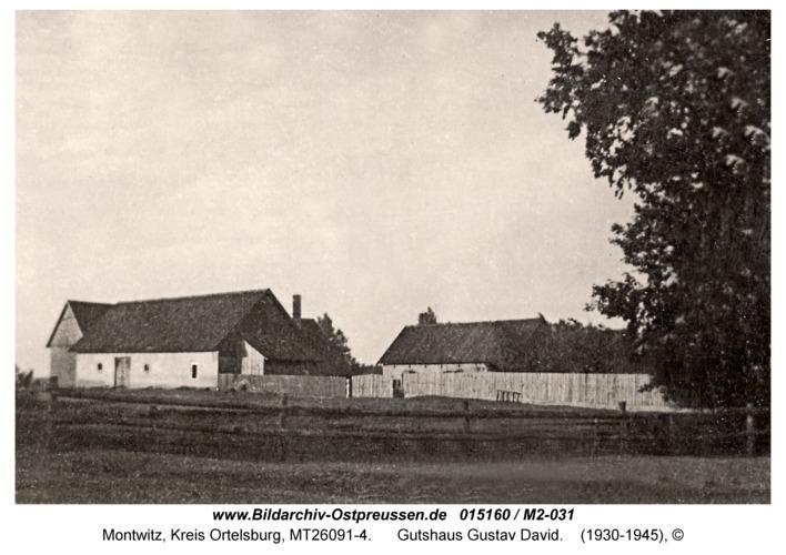 Montwitz, Gutshaus Gustav David