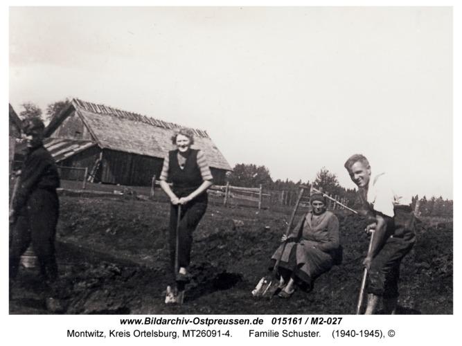 Montwitz, Familie Schuster