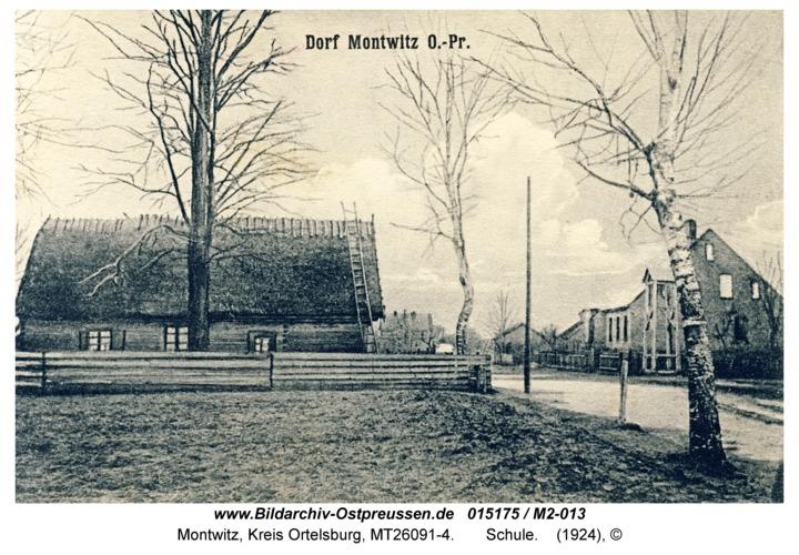 Montwitz, Schule