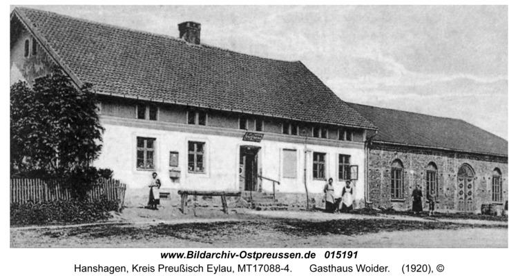 Hanshagen, Gasthaus Woider