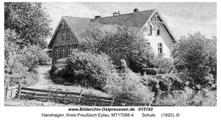 Hanshagen, Schule