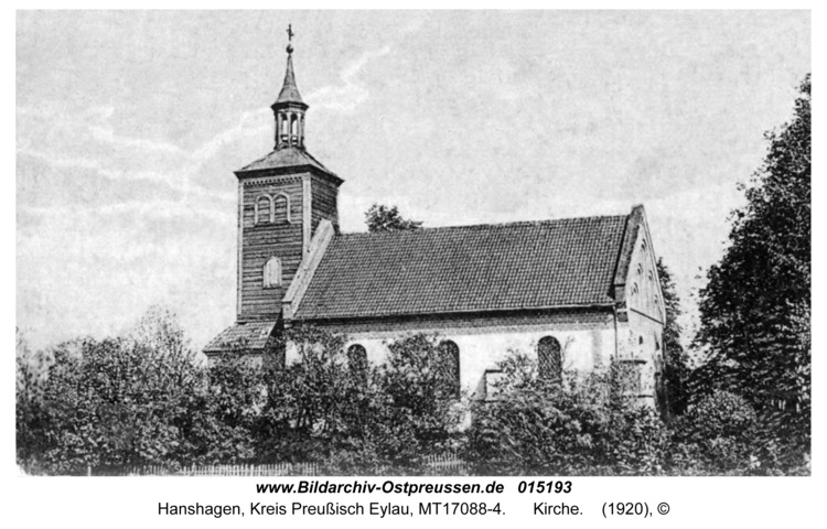 Hanshagen, Kirche