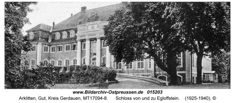 Arklitten, Schloss von und zu Egloffstein