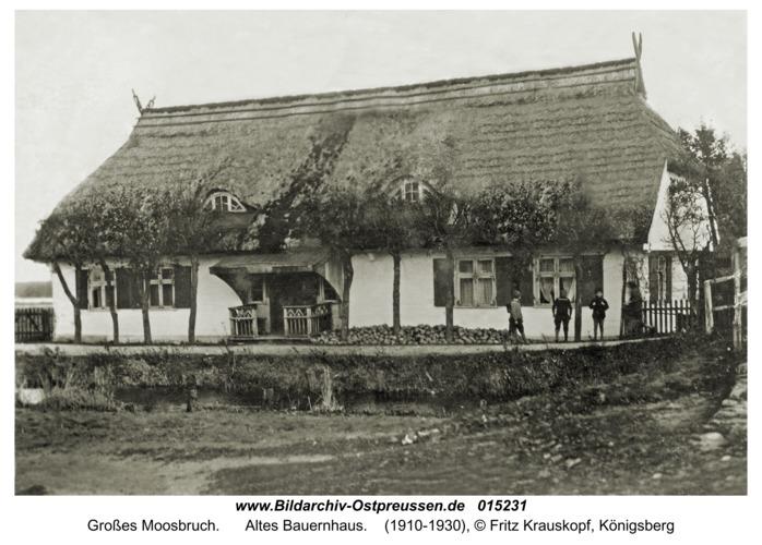 Großes Moosbruch, Altes Bauernhaus