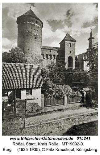 Rößel, Burg