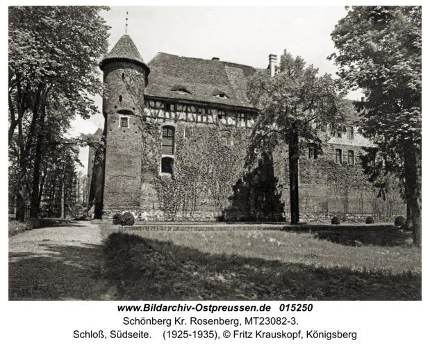 Schönberg, Schloß, Südseite