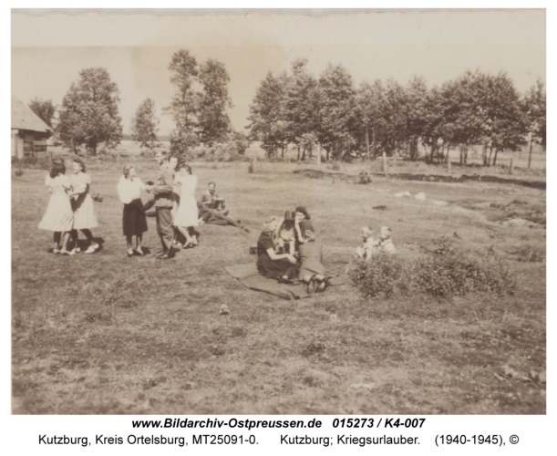 Kutzburg, Kriegsurlauber