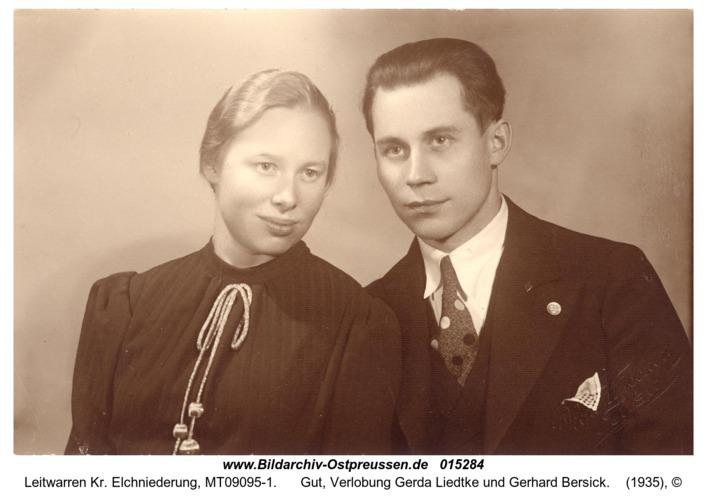 Leitwarren, Gut, Verlobung Gerda Liedtke und Gerhard Bersick