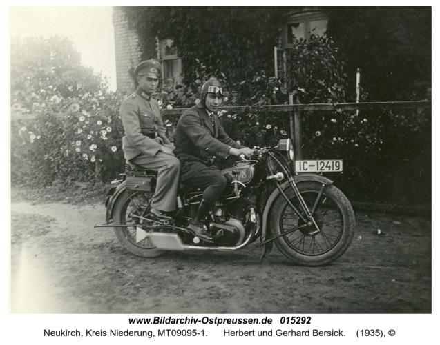 Neukirch, Herbert und Gerhard Bersick
