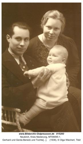 Neukirch, Gerhard und Gerda Bersick und Tochter Hanni