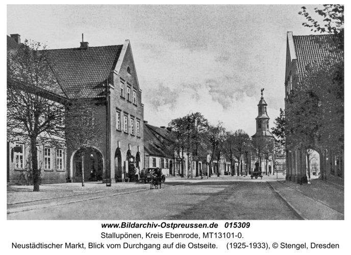 Ebenrode, Neustädtischer Markt