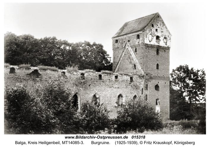 Balga, Burgruine