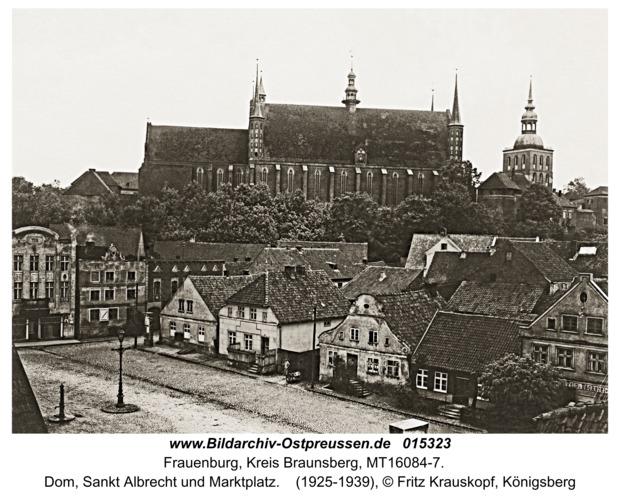 Frauenburg, Dom, Sankt Albrecht und Marktplatz