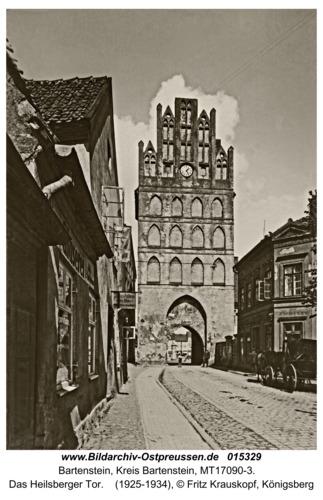 Bartenstein, Das Heilsberger Tor