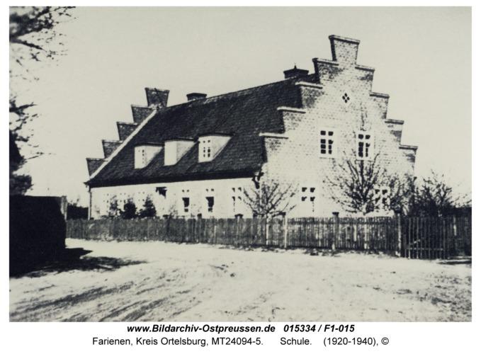 Farienen, Schule