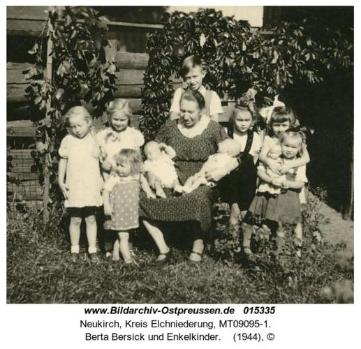 Neukirch, Berta Bersick und Enkelkinder