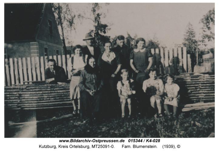 Kutzburg, Fam. Blumenstein