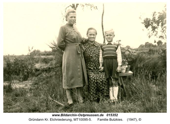 Gründann, Familie Butzkies